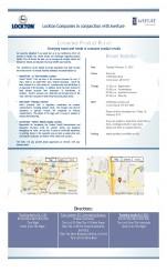 Product Recall Seminar invite